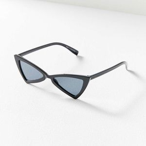 NWT Urban Outfitters Life On Mars Sunglasses Black